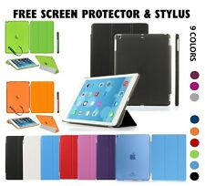 "Smart Magnetic Sleep Awake Leather Case Cover For APPLE iPad 234 Pro 9.7"" Mini 2"