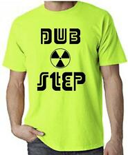 DUBSTEP RADIOACTIVE NEON T-SHIRT - Rave Dub Step Neon Drum n Bass - FREE P&P