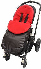 Footmuff / Cosy Toes Compatible with Buggy/Pushchair/Pram Red