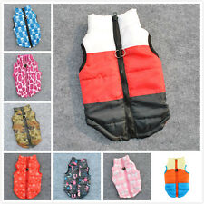 11Color Cat Dog Pet Clothing Soft Padded Vest Harness Jacket Small Dog Cute Coat