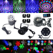 Mini RGB LED Laser Projector Club DJ Disco Bar Stage Lamp Lights Xmas Party New