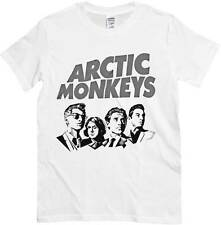 T-shirt Arctic Monkeys, T-shirt white, drawing music Indie Rock Alternative