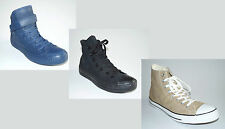 100%CONVERSE ALL STAR Classic HIGH Uomo Donna Scarpe Tela Pelle Chucks