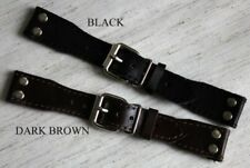 24mm PILOT STRAP with RIVETS OPEN FOR FIXED LUGS PILOT AVIATOR STYLE sturdy BAND