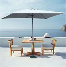 Parasol Sombrilla Jardin Playa con Mastìl Central 3 mt Aluminio Hexagonal AntiUV