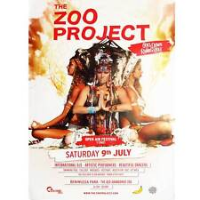 OFFICIAL Zoo Project Ibiza Club Poster Party 9th July 2016 Down the Rabbit Hole