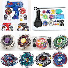 4D Beyblade Fusion Top Metal Master Rapidity Fight Rare With Launcher Set Toys