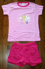 Disney Fairies TinkerBell Pyjama Shorty Set Gr. 98/104, 110/116, 134/140 rosa