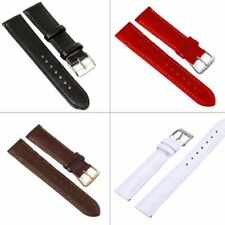 Replacement Watch Band Link Leather Steel Buckle Wrist Watch Strap Band Belt 1pc