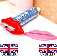 Pink Lips Mouth Toothpaste Cosmetic Tube Squeezer Gel Cream Sexy Womens Bathroom