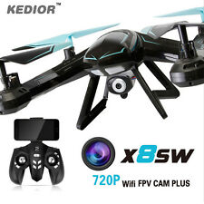 X8SW WiFi 0.3MP HD Camera FPV Drone 2.4G 6-axis Gyro RC Helicopter Quadcopter UK