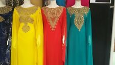 Sale ** Dubai Style Kaftan-Farasha- Jalabiya -Maxi Dress Abaya ** Fit for All **