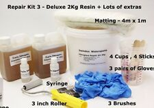 Fibreglass GRP Polyester Resin Repair Kit - LLOYDS Approved - You CHOOSE size