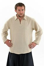 Chemise col relax chanvre - Neuf