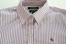 Lauren Ralph Lauren  pink/navy striped Long sleeve,