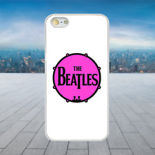 THE BEATLES PINK TAMBOURINE White Rubber Phone Case Cover Fits Iphone Models