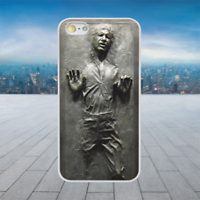 Han Solo Carbonite 2D White Hard Phone Case Cover Fits Iphone Models