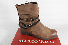 Marco Tozzi Boots, Boots, brown, padded, RV 46404 NEU