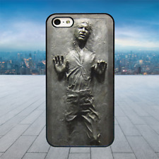 Han Solo Carbonite Black Hard Phone Case Cover Fits Iphone Models (2D)