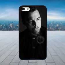 LEONARDO DICAPRIO SMOKE RING Black Hard Phone Case Cover Fits Iphone Models