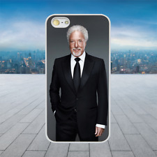 TOM JONES SUIT White Hard Phone Case Cover Fits Iphone Models