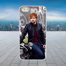 ED SHEERAN MOTORCYCLE White Hard Phone Case Cover Fits Iphone Models