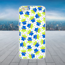 TOY STORY ALIEN PATTERN White Rubber Phone Case Cover Fits Iphone Models