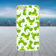 TOY STORY DINO PATTERN White Hard Phone Case Cover Fits Iphone Models
