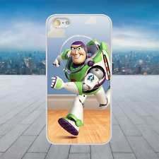 BUZZ LIGHTYEAR TOY STORY White Hard Phone Case Cover Fits Iphone Models