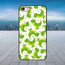 TOY STORY DINO PATTERN Black Hard Phone Case Cover Fits Iphone Models