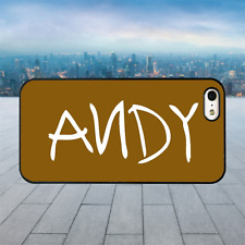TOY STORY ANDY Black Hard Phone Case Cover Fits Iphone Models