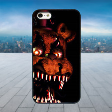 SCARY BEAR FIVE NIGHTS Black Hard Phone Case Cover Fits Iphone Models