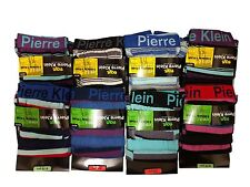 3/6/12 Boys Pierre Klein Boxer Shorts  Poly Cotton Designer Trunks Underwear