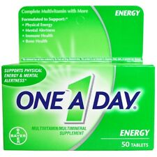 Energy, Multivitamin/Multimineral Supplement, 50 Tablets - One-A-Day