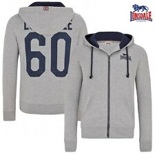 Lonsdale Zip Hoody chattenden Chaqueta de punto Hombre Sudadera Jersey Boxing S-