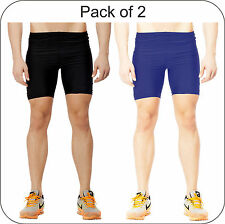 Akaira Unisex 2 pc Pack Multi Utility Compression Fabric with 4X4 Lycra Shorts