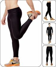 Akaira Unisex Black Multi Use Compression 4x4 Lycra Pants for fitness sports gym