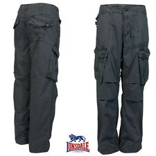 Lonsdale Uomo Cargo Pantaloni Oscar combat Security Sicurezza Outdoor NEU