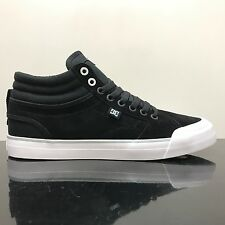 DC SHOES EVAN SMITH HI S BLACK WHITE TRAINERS