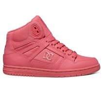 DC SHOES REBOUND HIGH DESERT PINK TRAINERS