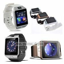 Bluetooth DZ09 Smart Watch For HTC Samsung LG Android Phone With Camera SIM UK
