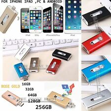 i Flash Drive OTG Device USB Memory Stick for iPhone IOS Android 32 64 128GB