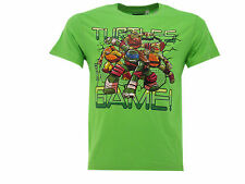 "T-shirt Tortues Ninja ""tortues Got Game!"" Vert"