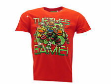 "Camiseta Tortugas Ninja Mutante Adolescentes ""Turtles Got Game!"" Rojo"