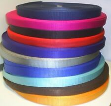 heavy duty  25mm wide webbing  dogs golf  horses hobbies craft