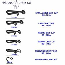 Bait Clips, Link Clips & Rotten Bottom Clips - Sea Fishing Rigs & Lead Weights