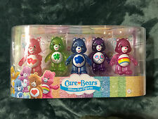 Care Bears 3 inch Care Bears Glitter Fun Figures Set - 5 Pack