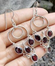 Gemstone Solid Silver, 925 Bali Handcrafted Earring 24608
