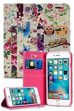For Apple iPhone 5 / 5S Fashion Luxury Flower Magnetic Wallet Case 32 Designs