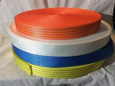 50mm Polyester Webbing Heavy Duty 4tonne. Trailer, Ratchet, Winch Strap 4000kg